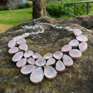 NEW! Rose Quartz Necklace